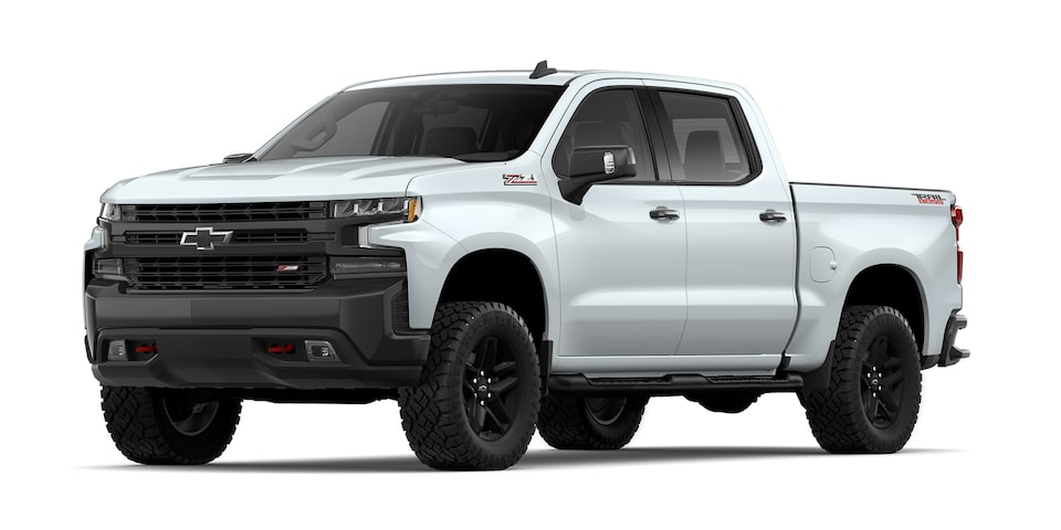 Chevrolet Cheyenne 2021, camioneta doble cabina en color blanco